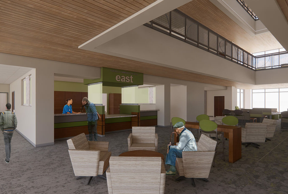 PCHC-Eastside Clinic_Interior_Rendering_Entry Lobby